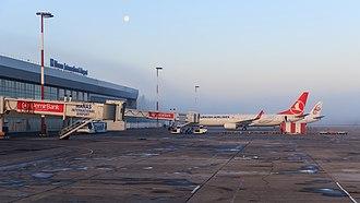 Manas International Airport - Image: Bishkek 03 2016 img 51 Manas Airport