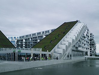 Bjarke Ingels Group - 8 House in Ørestad, Copenhagen, Denmark