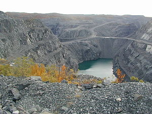 Kirkenes–Bjørnevatn Line - Bjørnevatn Mine