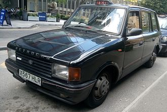 MCW Metrocab - Metrocab II, with new grille and headlights