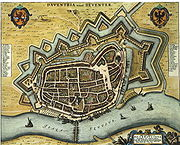 Blaeu 1652 - Deventer