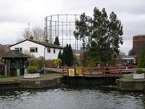 Blake's Lock - Image: Blakes Lock, Reading geograph.org.uk 1200776