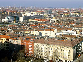 Point de vue sur Prenzlauer Berg.