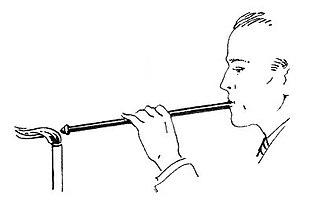 Blowpipe (tool) - Manual blowpipe.