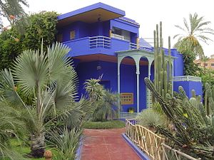 Jacques Majorelle - Blue Villa in the Gardens