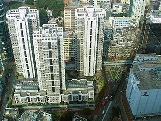 Public housing estates in Tsuen Wan - Bo Shek Mansion