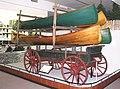 Boat-carrying wagon, Adk Museum.jpg