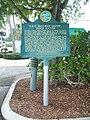 Boca Raton FL Express Train Museum marker01.jpg