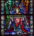 Bocan St. Mary's Church Nave North Wall Window 02 Sacred Heart of Jesus Bottom Panels 2014 09 09.jpg