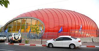 Eilat Sports Center - Image: Bodek Architects Eilat Sports Center