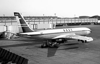 Basil Smallpeice - Boeing's jet powered 707, an aircraft Smallpeice was also instrumental in BOAC purchasing