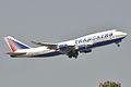 Boeing 747-400 Transaero AL (TSO) EI-XLI - MSN 27648 1253 (9595176114).jpg