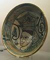 Bol de ceràmica verda i manganés, Paterna, segle XIV, Museu de la Ciutat (València).JPG