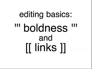 सञ्चिका:Boldness and links tutorial.ogv