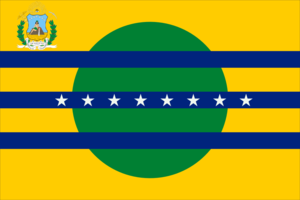 Flag of the state of Bolívar of Venezuela