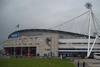 University of Bolton Stadium - The stadium in December 2009