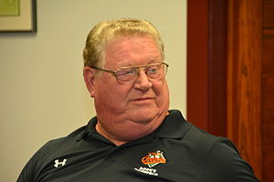 Boog Powell - Powell at the Annapolis Book Festival in 2015