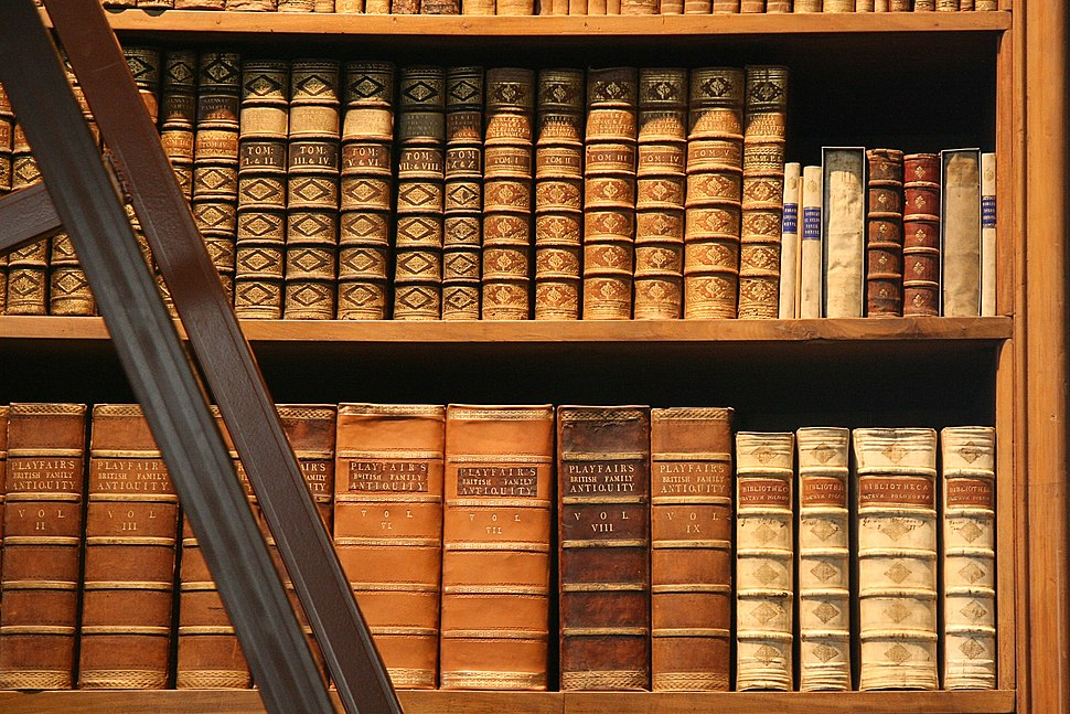 Bookshelf Prunksaal OeNB Vienna AT matl00786ch