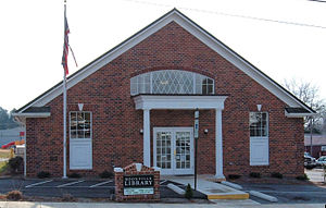 Boonville, North Carolina - Boonville's library