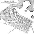 Borgholm, situationsplan, Nordisk familjebok.png