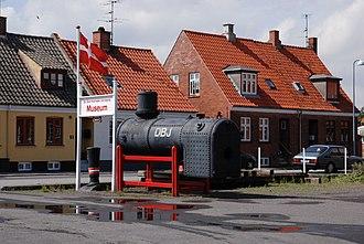 Nexø - Railway museum in Nexø