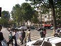 Boulevard de la chapelle (sortie du métro du côté nord) 02.jpg