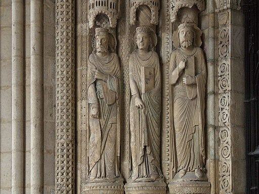 Bourges Cathedral sculptures 002