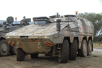 Boxer (armoured fighting vehicle) - Image: Boxer DVD
