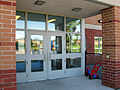 Boxwood PS east entrance - Sept. 10, 2008.jpg