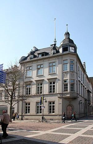 Deutsch: Historisches Rathaus Brühl, Steinweg 1