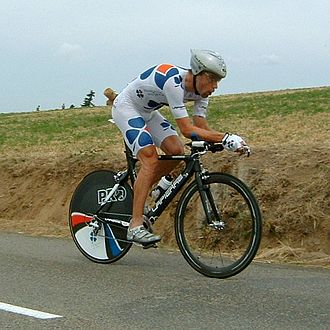 Bradley McGee - Brad McGee riding for Française des Jeux during the Stage 20 individual time trial of the 2005 Tour de France.