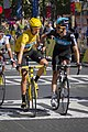 Bradley Wiggins and Michael Rogers, 2012 Tour de France finish.jpg