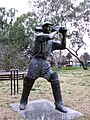 Bradman statue at Cootamundra.jpg