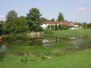 Old Coulsdon - Image: Bradmore Green Pond Old Coulsdon Surrey geograph.org.uk 234864