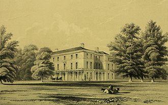 Latham of Bradwall - Bradwall Hall, c.1847