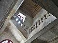 Brantôme abbaye escalier.jpg