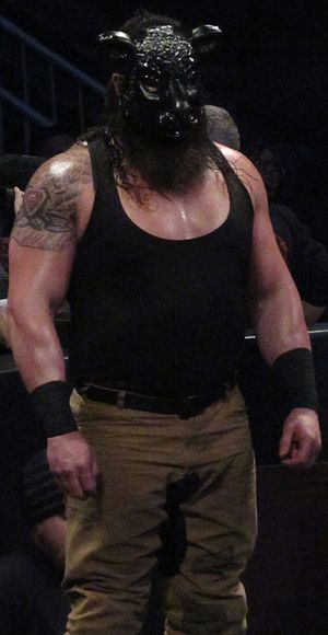 Braun Strowman - Strowman as part of The Wyatt Family in January 2016