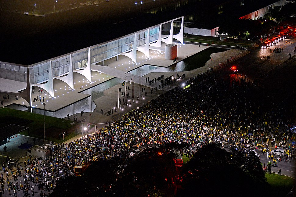 Brazil protest 16 March 2016
