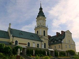 Brdów - St Adalbert's of Prague church in Brdów, 14th century; 17th century