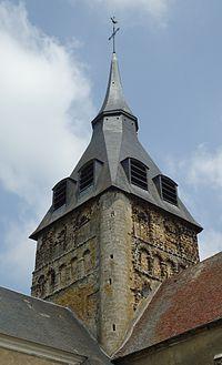 Breteuil - Eglise Saint-Sulpice, XIe & XIIe (ISMH) - Tour.JPG