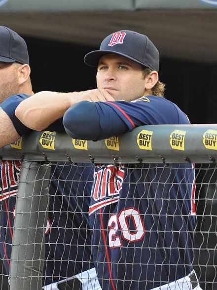 Dozier with the Twins in 2012 Brian Dozier on June 26, 2012.jpg