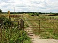 Bridleway to Sapcote - geograph.org.uk - 215365.jpg