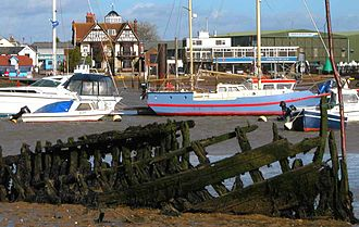Brightlingsea - Image: Brightlingsea Harbour