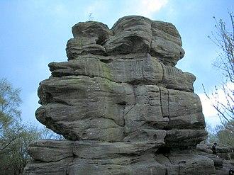 Brimham Rocks - Image: Brimham Rocks 3