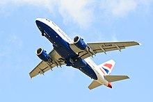 British Airways A318 - Royal International Air Tattoo 2015 (19764304379).jpg