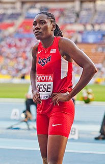 Brittney Reese American female Olympic athlete