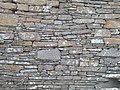 Broch of Gurness, drystone masonry wall.jpg