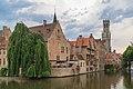 Bruges Belgium De-groote-Hollander-Huidenvettersplein-12-03.jpg