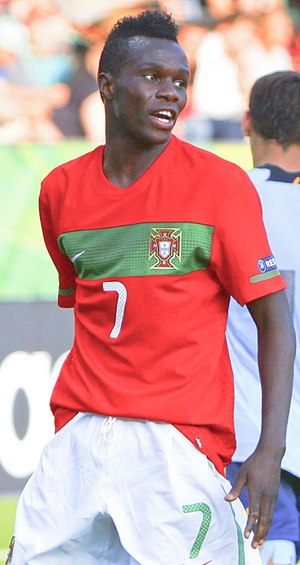Bruma (footballer) - Bruma with Portugal U19 in 2012
