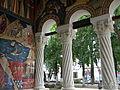 Bucuresti, Romania, Biserica Sfantul Gheorghe Nou ( pridvor, 3); B-II-m-A-18225.JPG